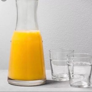Hearth & Hand SET OF 2 Juice Carafe